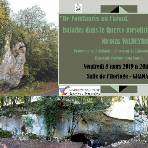 Conférence ballade dans le Quercy Mésolithique