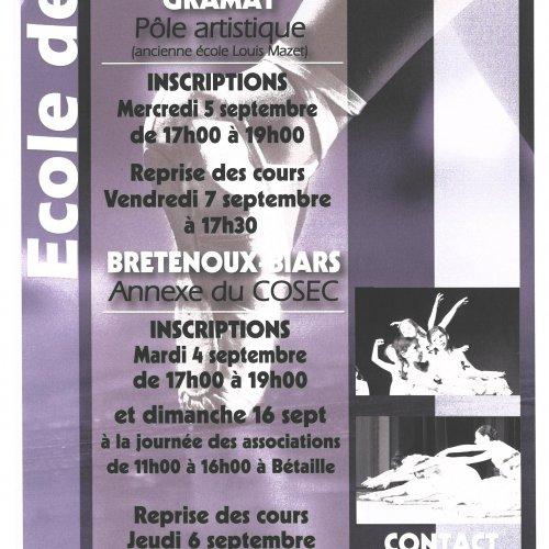 Ecole de danse, Cécile Bouzou