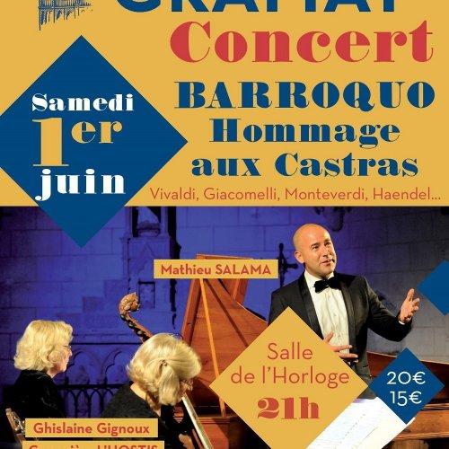 Concert Barroquo Hommage aux castras
