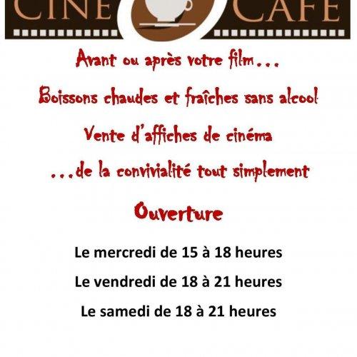 CINÉ CAFÉ- NOUVEAU