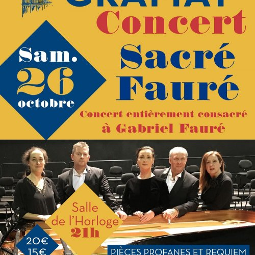 Concert SACRÉ FAURÉ