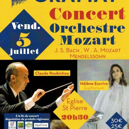 Concert orchestre Mozart