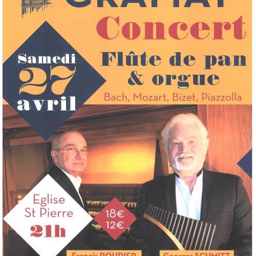 Concert Flûte de pan et orgue