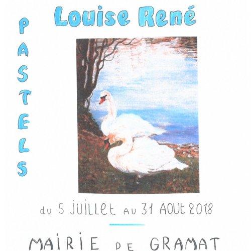 Exposition Louise René, Mairie de Gramat
