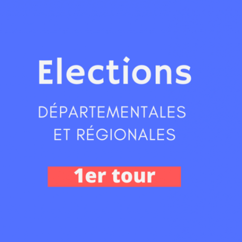 résultats des élections du 1er tour